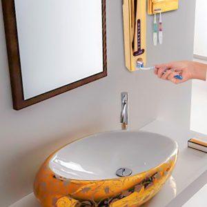 دستگاه خمیردندان اتوماتیک اسپادانا همراه با جامسواکی